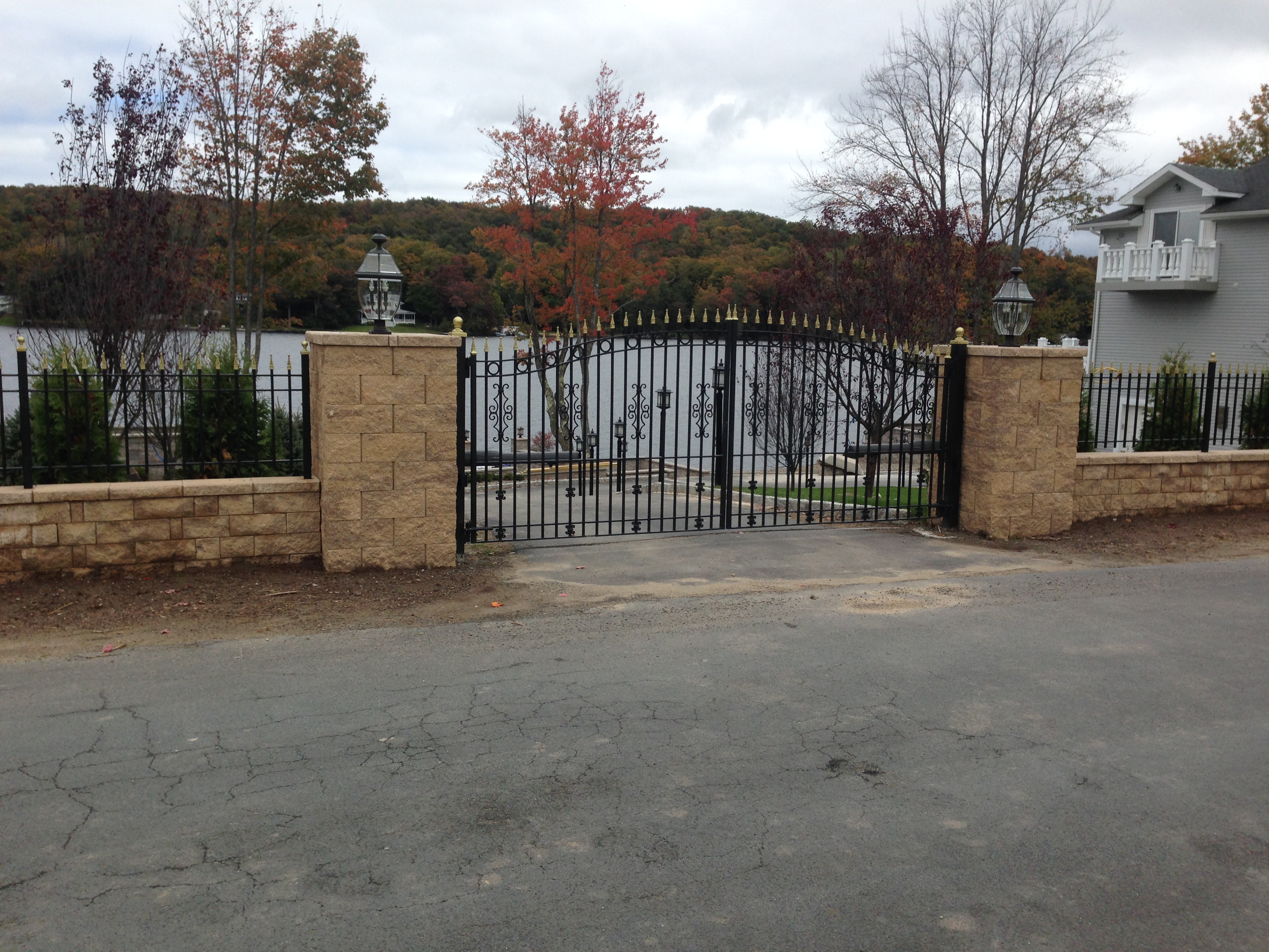 Wood And Iron Gates Frasier Fence Company